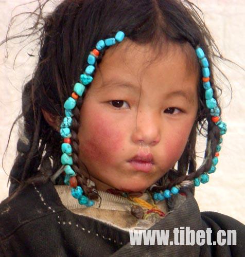 藏族头饰文化