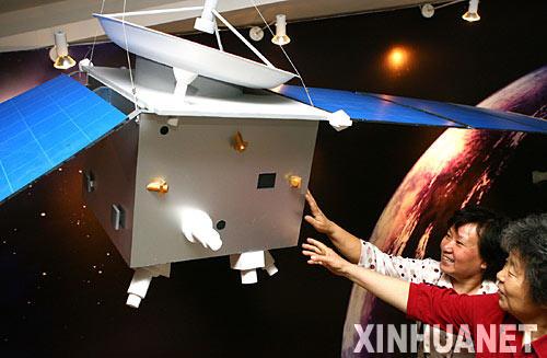 火星探测器模型-中国首个火星探测器下半年升空 将搭载俄罗斯火箭