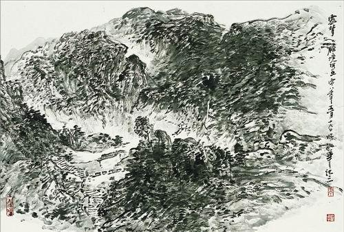 水墨画用什么笔-2005年就读于中国国家画院龙瑞工作室.现为2007年中国国家画院龙