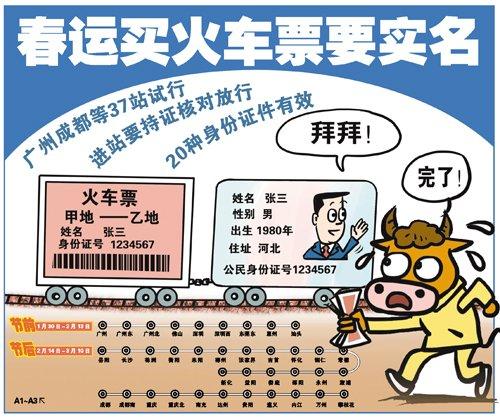 旅客可通过4种渠道购买实名制火车票