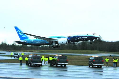 """波音787型""""梦想""""客机"""