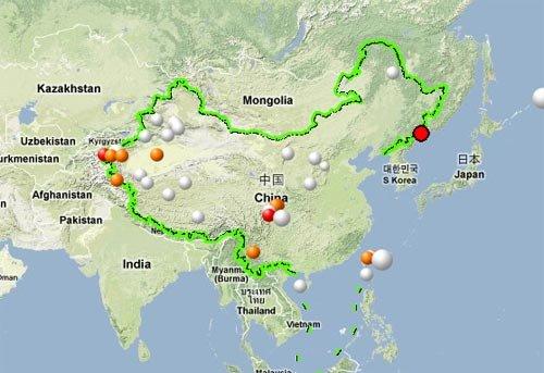 中国吉林与俄罗斯交界处今晨发生6.5级地震