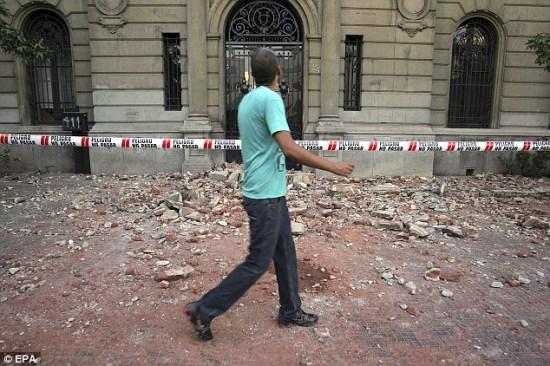 智利总统宣布国家进入灾难状态