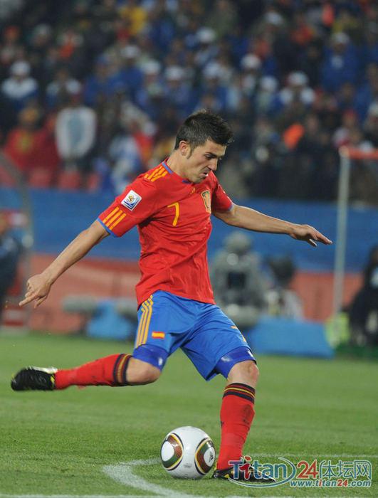 比利亚失点球梅开二度 西班牙2-0洪都拉斯 -- 中