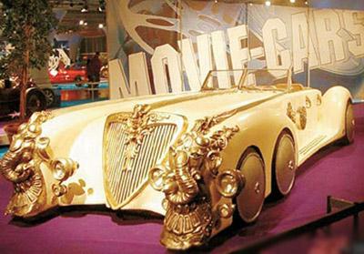 世界上最贵的十辆车 黄金跑车28.5亿元 图