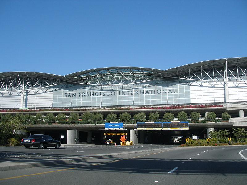 资料图:美国旧金山国际机场