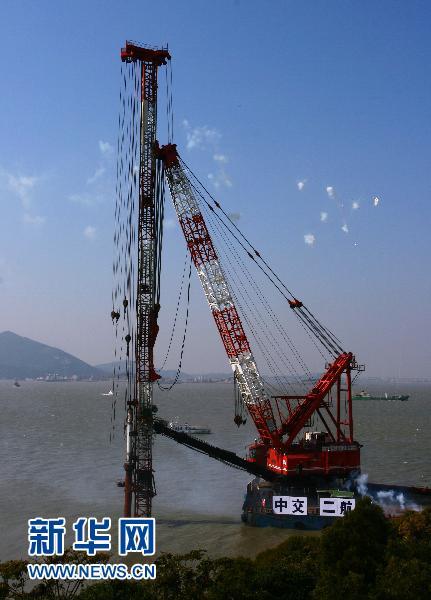 福建第一大岛跨海大桥建成开通(组图)