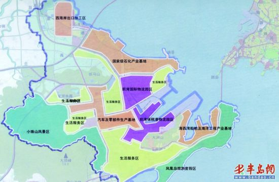 中国生态区地图