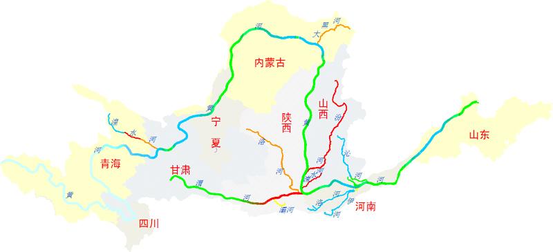 我国河流分布图_2010年中国环境状况公报/全文