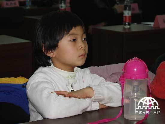 北京sos儿童村天真可爱的孩子们.记者王振红摄