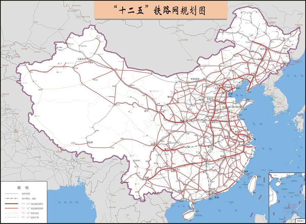 武汉到徐州高铁规划