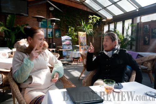 探访北京聋哑餐厅 享受无声服务
