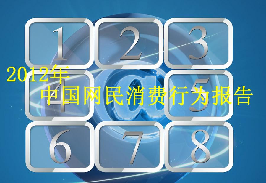 2012年中国网民消费行为报告-汽车