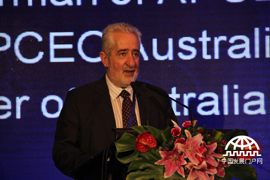 亚太总裁协会全球副主席、澳大利亚前部长尼克•博尔库斯