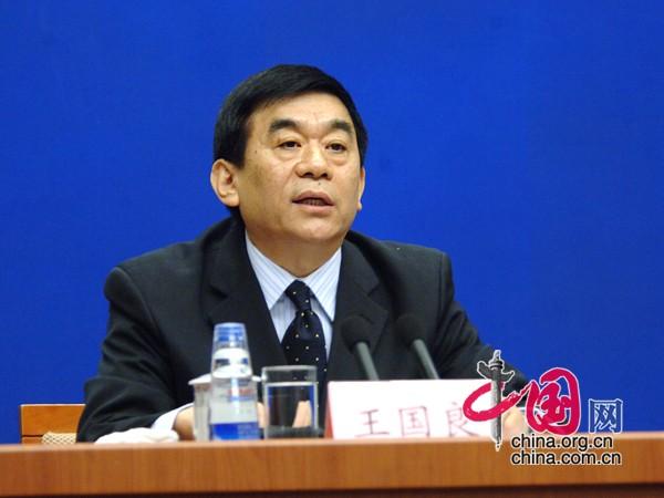 国务院扶贫开发领导小组办公室副主任王国良 中国网 寇莱昂拍摄