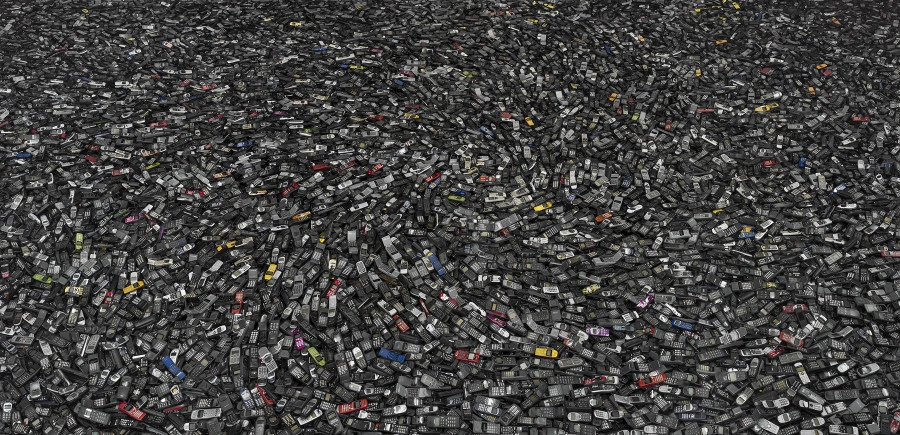 摄影师记录社会废弃物报废场面[组图]_中国发