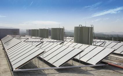 中国太阳能热水器产量年增长率30%图片