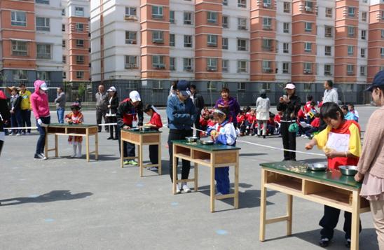 5月9日,乌鲁木齐市第126小学全体师生举行了春季趣味