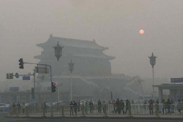 """环保部长陈吉宁回应""""中国雾霾飘到美国"""""""