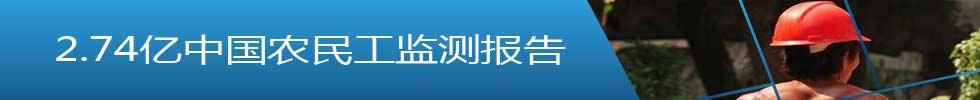 2.74亿中国农民工监测报告