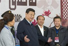 习近平:建设团结和谐繁荣富裕文明进步安居乐业的社会主义新疆