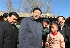 习近平春节前夕赴甘肃看望各族干部群众