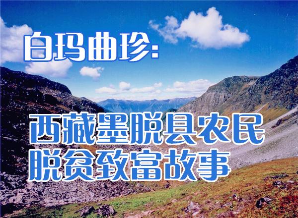白玛曲珍:西藏墨脱县农民脱贫致富故事