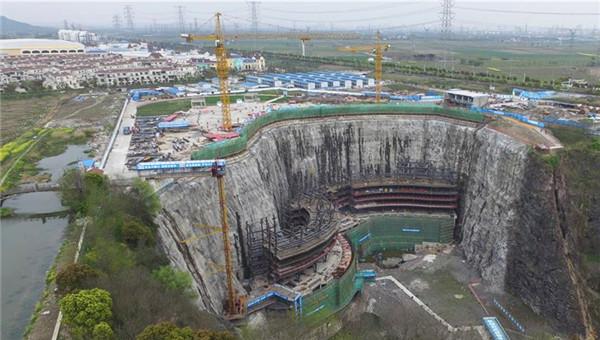 """上海:""""深坑酒店""""将于2017年建成"""
