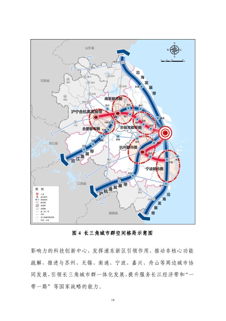 长江三角洲城市群发展规划