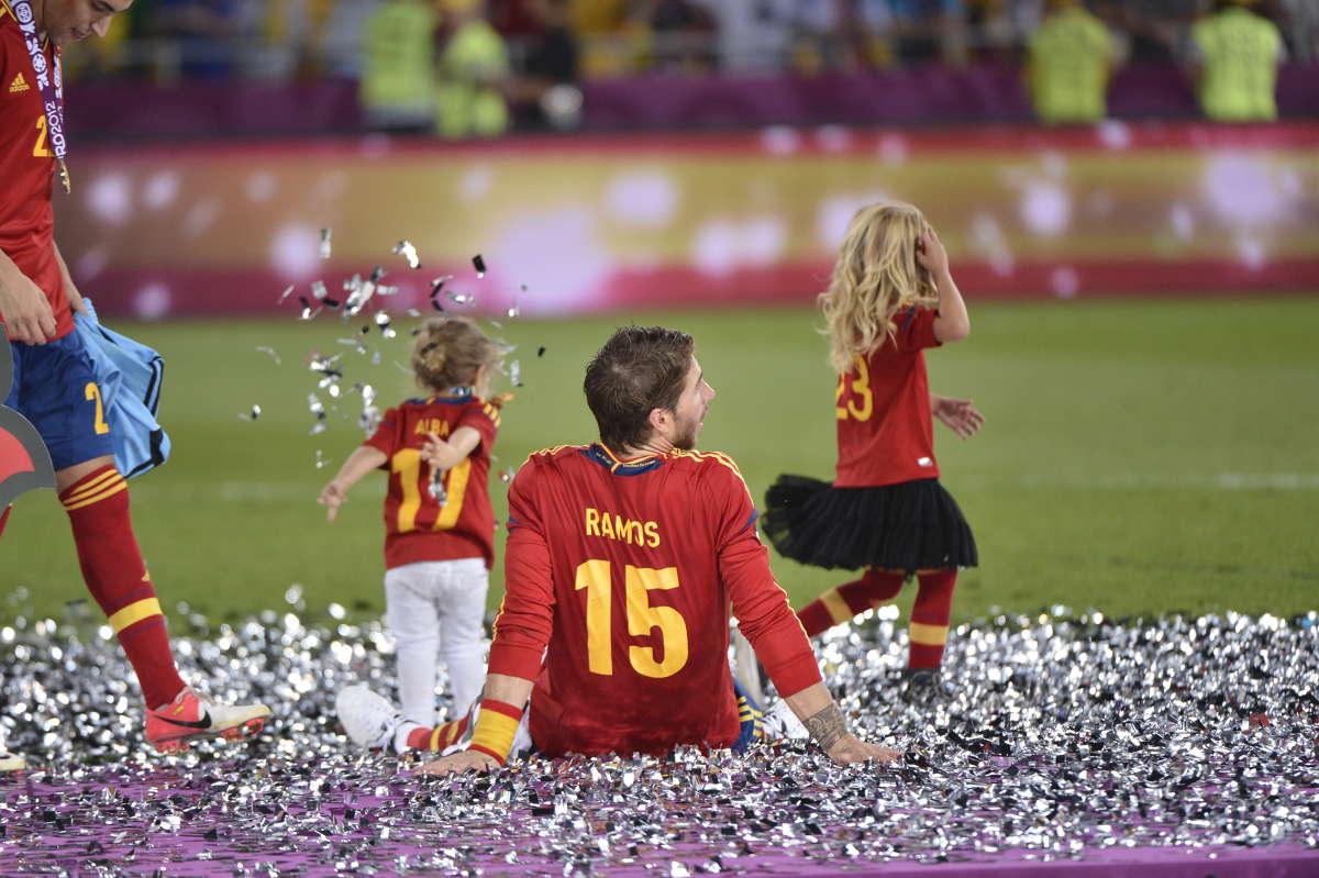 2012年欧洲杯,西班牙夺冠. (图片来源网络)图片