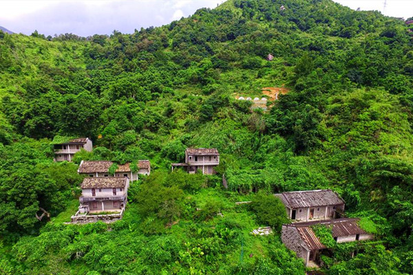 村落建于16世纪末,至今保存原貌