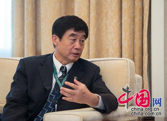 联合国环境规划署驻华代表张世钢接受中国网记者专访