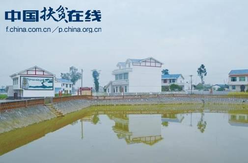 岳池县乔家镇的新村聚点