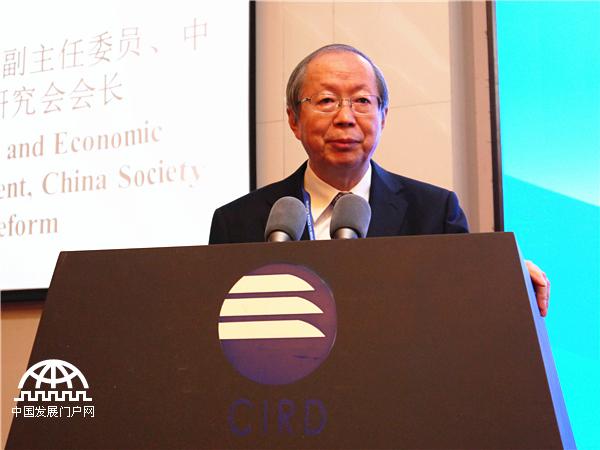 全国人大财经委员会副主任委员、中国经济体制改革研究会会长彭森