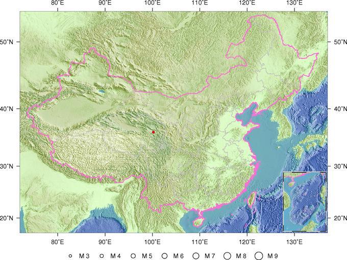 青海海南州共和县发生3.0级地震