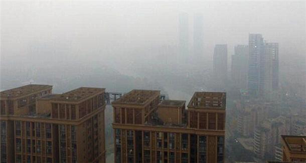 四川盆地入秋后第三次区域性污染持续