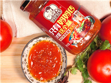妈妈传西红柿酱