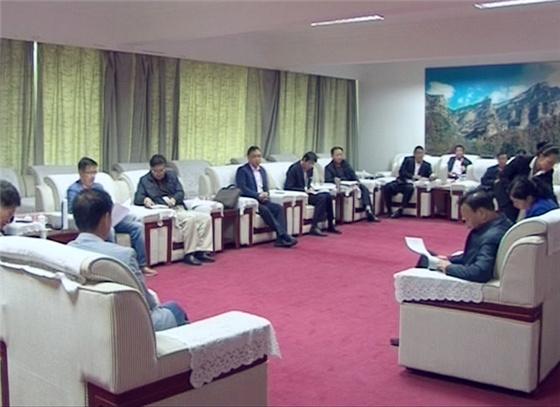 中国外文局工作小组深入左权县调研全国人口劳动就业工作