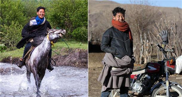 五年,四个藏族牧民家庭的摄影纪实