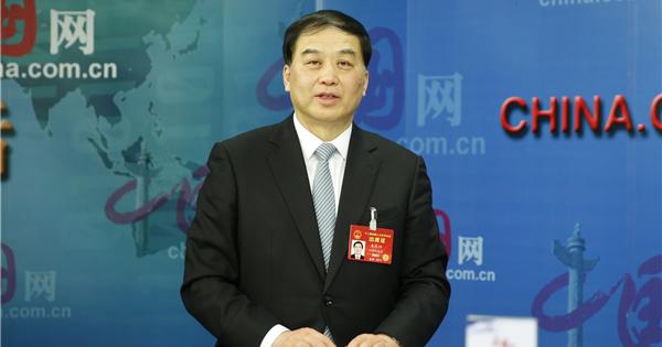 人大代表朱民阳:加减乘除 推进江淮生态大走廊建设