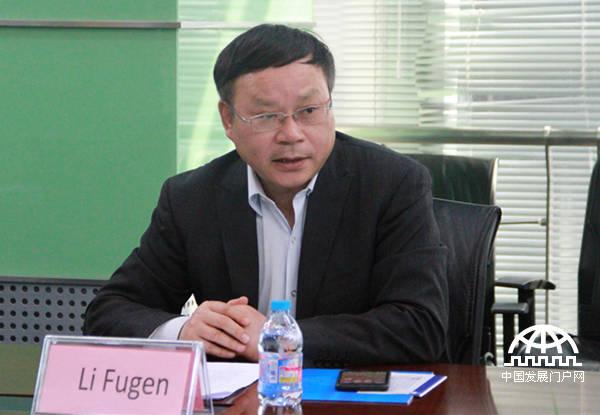中国网副总裁李富根