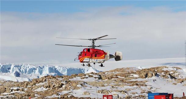 在南极,让抵达更快更准——记南极科考直升机机组