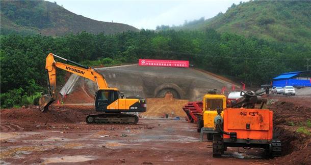 '一带一路'·好项目│中老铁路加紧隧道施工