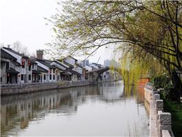 扬州遗产点之一:扬州古运河
