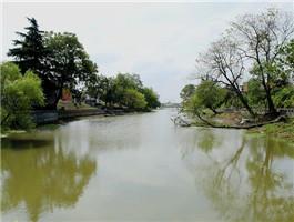 扬州遗产点之一:邵伯古堤