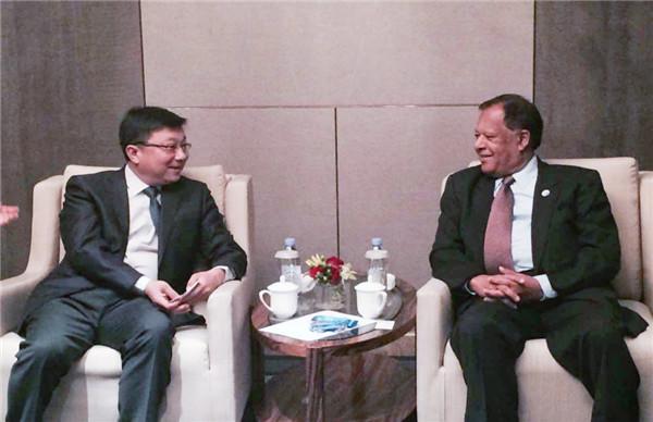 中科曙光历军会见斯里兰卡来华代表 布局'一带一路'南亚信息带