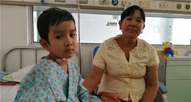 """民心相通 从""""心""""开始——记缅甸先天性心脏病儿童救助行动"""