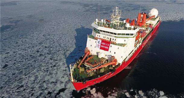 中国的南极事业