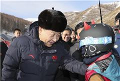 习近平:科学规划集约利用资源 高质量完成冬奥会筹办工作
