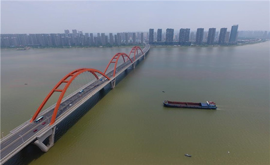 湘江雨急水漲 湖南啟動防汛四級響應